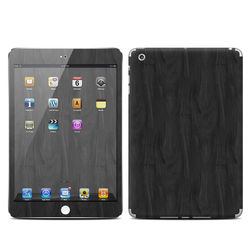 Apple iPad Mini Skin - Black Woodgrain