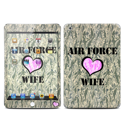 Apple iPad Mini Skin - Air Force Wife