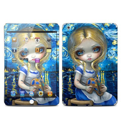 Apple iPad Mini Skin - Alice in a Van Gogh