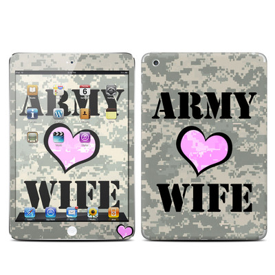Apple iPad Mini Skin - Army Wife