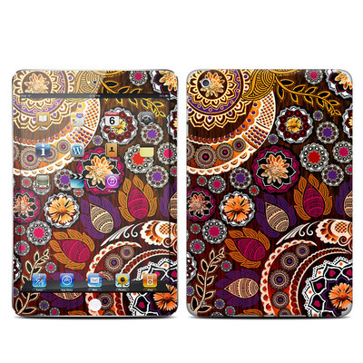 Apple iPad Mini Skin - Autumn Mehndi
