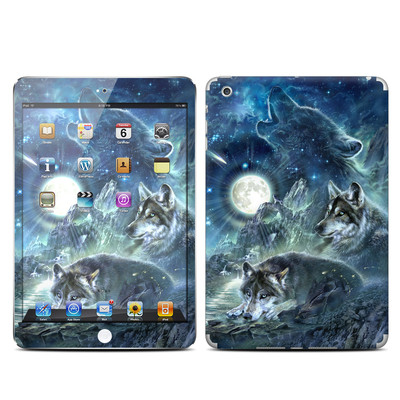 Apple iPad Mini Skin - Bark At The Moon