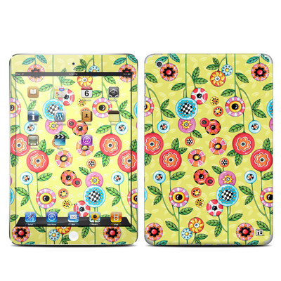 Apple iPad Mini Skin - Button Flowers
