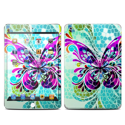 Apple iPad Mini Skin - Butterfly Glass