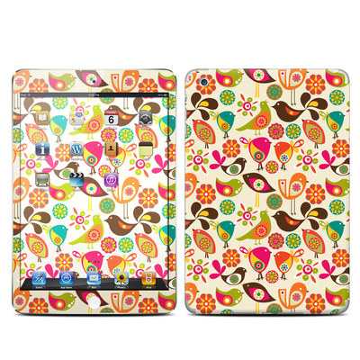 Apple iPad Mini Skin - Bird Flowers