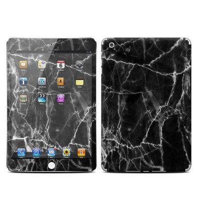 Apple iPad Mini Skin - Black Marble