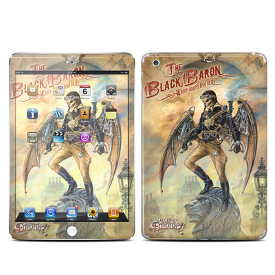 Apple iPad Mini Skin - The Black Baron