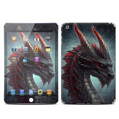 Apple iPad Mini Skin - Black Dragon