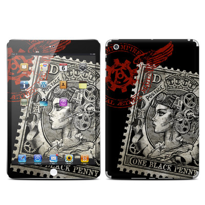 Apple iPad Mini Skin - Black Penny