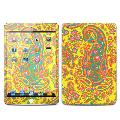 Apple iPad Mini Skin - Bombay Chartreuse