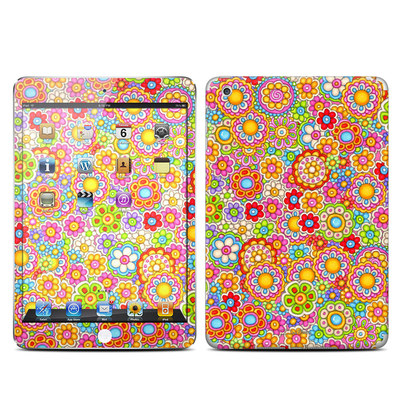 Apple iPad Mini Skin - Bright Ditzy