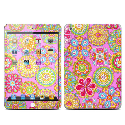 Apple iPad Mini Skin - Bright Flowers