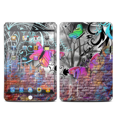 Apple iPad Mini Skin - Butterfly Wall