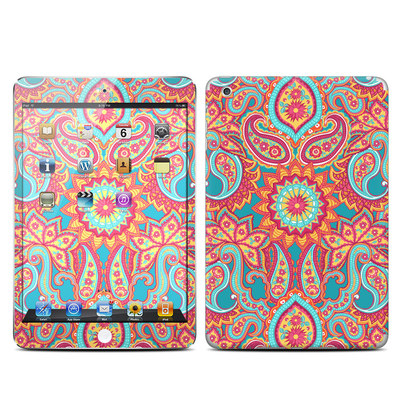 Apple iPad Mini Skin - Carnival Paisley