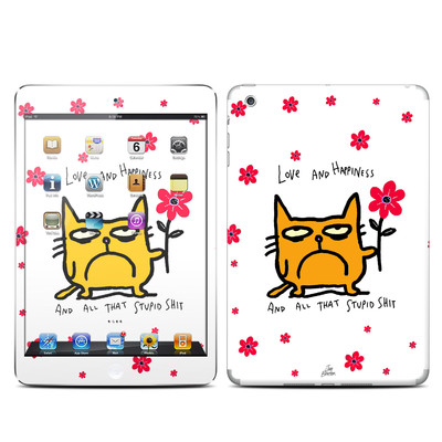 Apple iPad Mini Skin - Catwad Happy