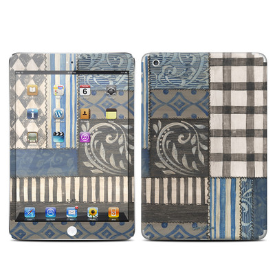 Apple iPad Mini Skin - Country Chic Blue