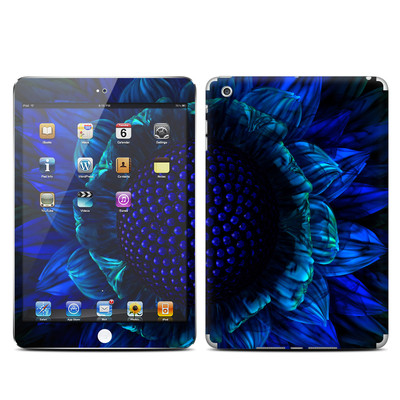 Apple iPad Mini Skin - Cobalt Daisy