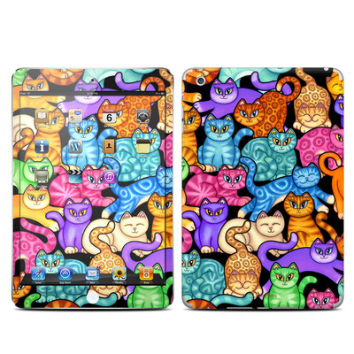 Apple iPad Mini Skin - Colorful Kittens