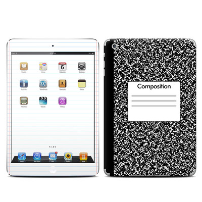 Apple iPad Mini Skin - Composition Notebook