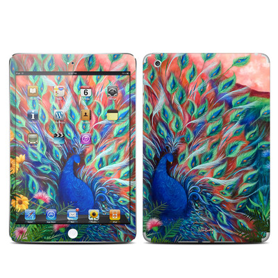 Apple iPad Mini Skin - Coral Peacock