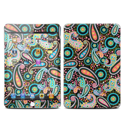 Apple iPad Mini Skin - Crazy Daisy Paisley