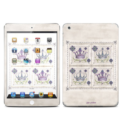 Apple iPad Mini Skin - Purple Crown