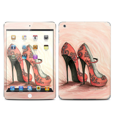 Apple iPad Mini Skin - Coral Shoes