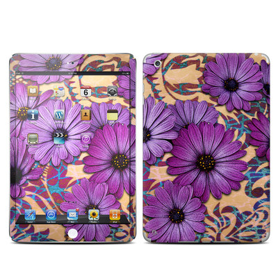 Apple iPad Mini Skin - Daisy Damask