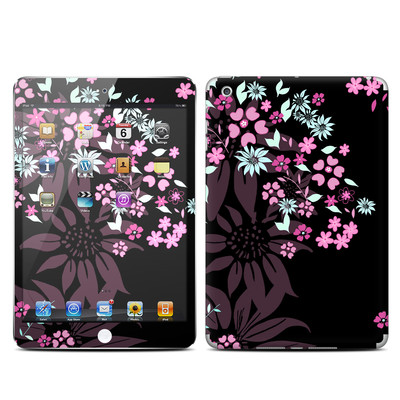 Apple iPad Mini Skin - Dark Flowers