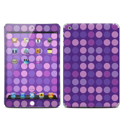 Apple iPad Mini Skin - Big Dots Purple
