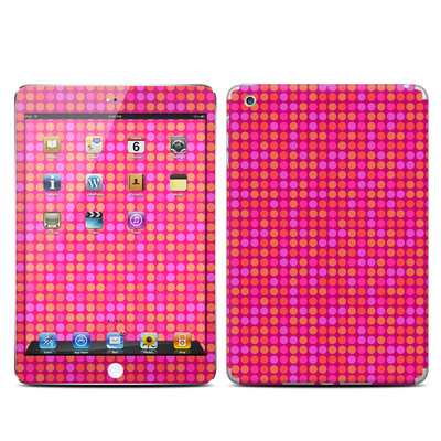 Apple iPad Mini Skin - Dots Pink