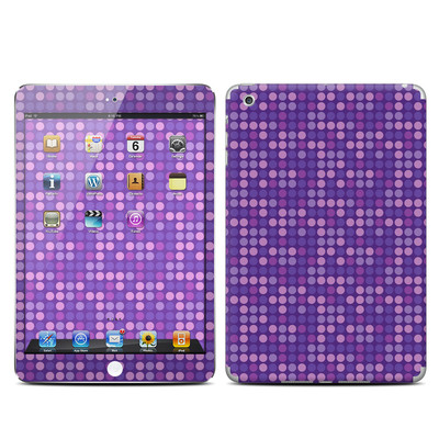 Apple iPad Mini Skin - Dots Purple