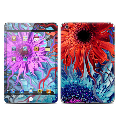 Apple iPad Mini Skin - Deep Water Daisy Dance