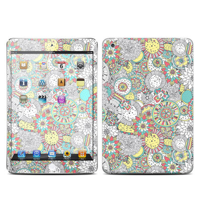 Apple iPad Mini Skin - Faded Floral