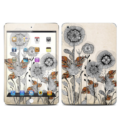 Apple iPad Mini Skin - Four Flowers