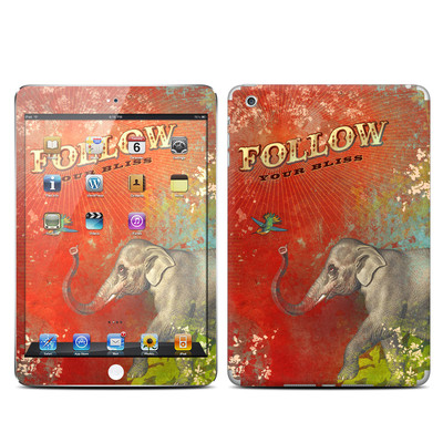 Apple iPad Mini Skin - Follow Your Bliss
