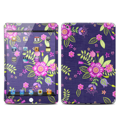 Apple iPad Mini Skin - Folk Floral