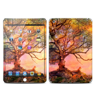 Apple iPad Mini Skin - Fox Sunset