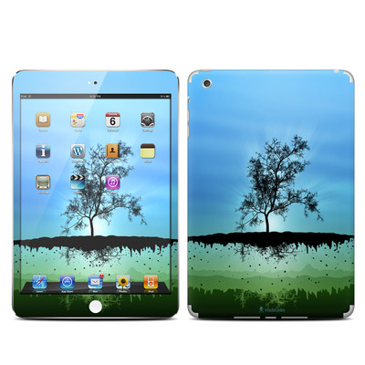 Apple iPad Mini Skin - Flying Tree Blue
