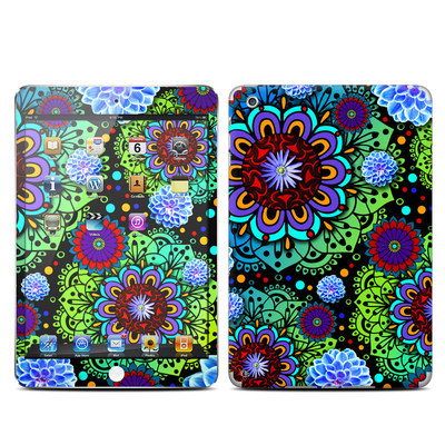 Apple iPad Mini Skin - Funky Floratopia