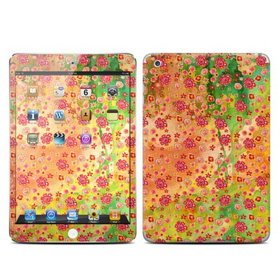 Apple iPad Mini Skin - Garden Flowers