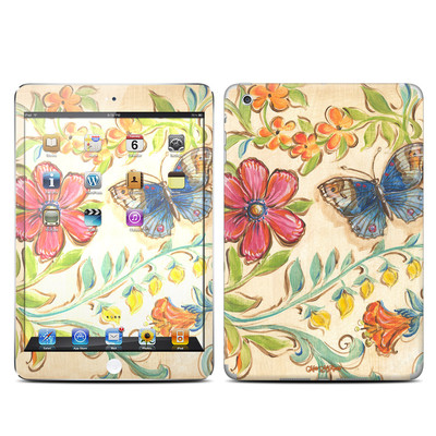 Apple iPad Mini Skin - Garden Scroll