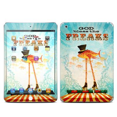 Apple iPad Mini Skin - God Bless The Freaks