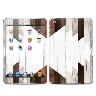 Apple iPad Mini Skin - Geo Wood