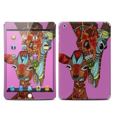 Apple iPad Mini Skin - Giraffe Love