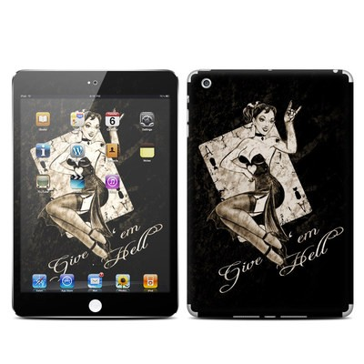 Apple iPad Mini Skin - Give Em Hell