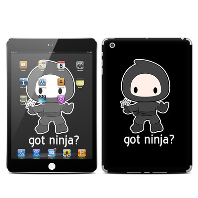 Apple iPad Mini Skin - Got Ninja