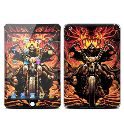 Apple iPad Mini Skin - Grim Rider