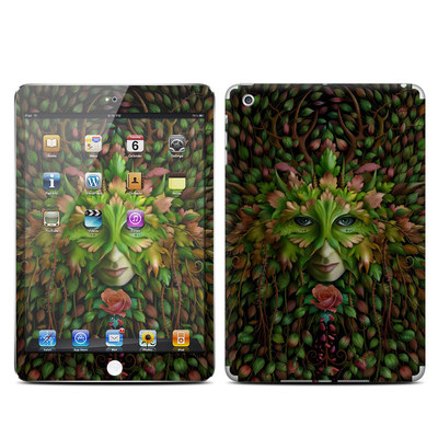 Apple iPad Mini Skin - Green Woman