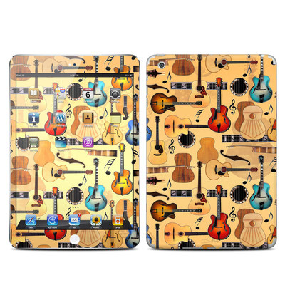 Apple iPad Mini Skin - Guitar Collage